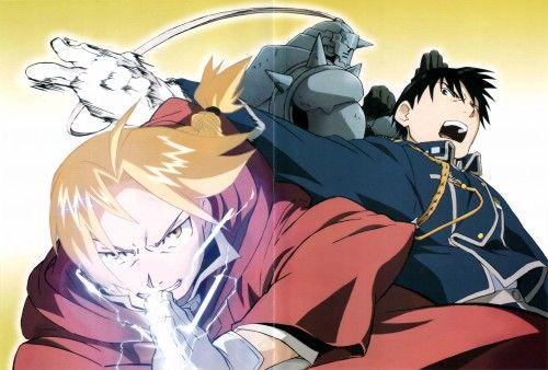 Hiromu Arakawa, BONES, Fullmetal Alchemist, Roy Mustang, Alphonse Elric