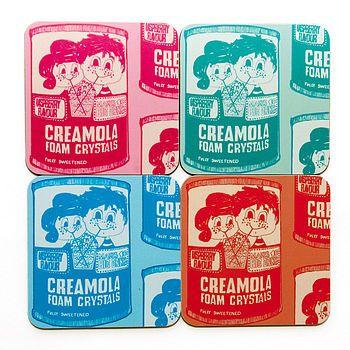 Creamola Foam Coasters