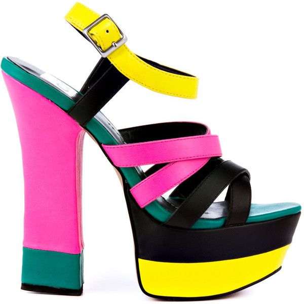 The 25  best Neon high heels ideas on Pinterest | Hot shoes, Sexy ...
