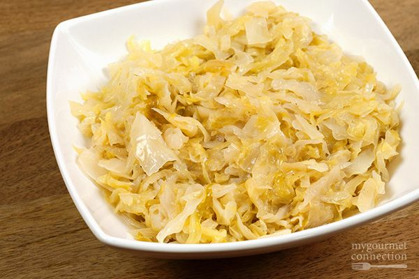 Butter-braised cabbage is a delicious side dish to served with roasted pork, ham or chicken.