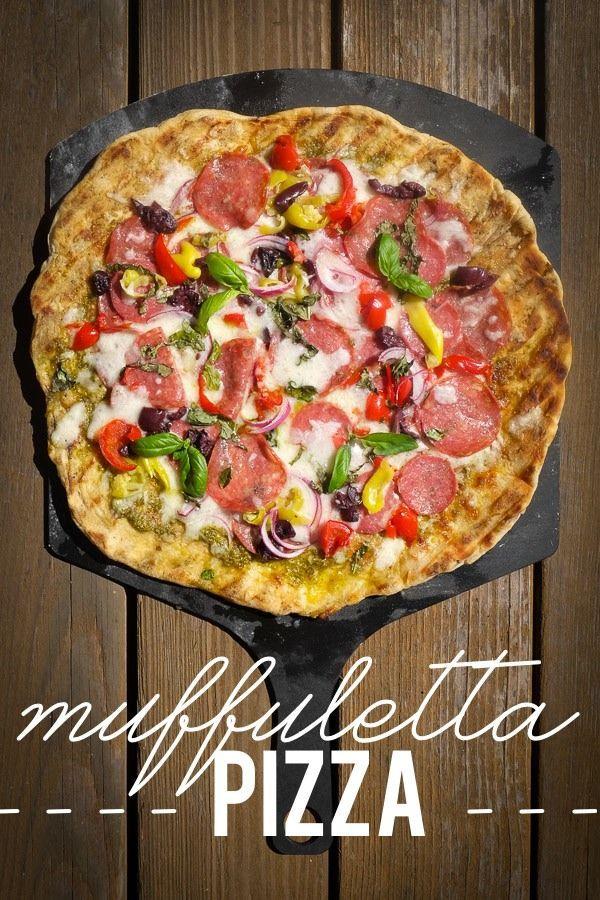 Muffuletta Pizza Muffuletta Sandwich Pizza Recipes Food