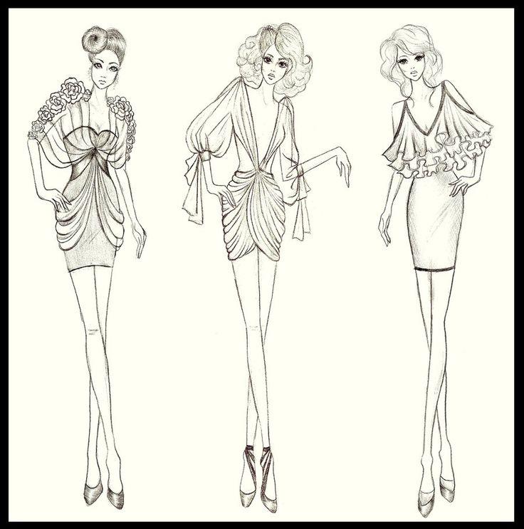 How To Draw Fashion Sketches | fashion design dresses 3 by twishh designs interfaces fashion fashion ...
