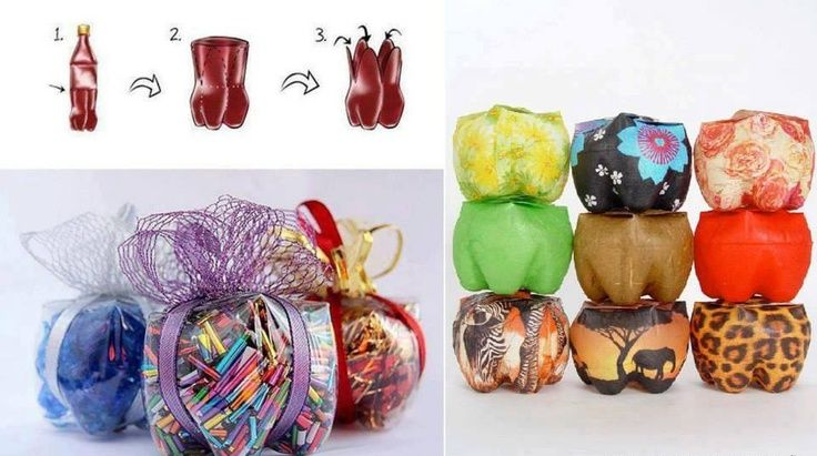 Pop Bottle Crafts | Recyle 2-Liter Soda Bottles into Small containers... | Crafts