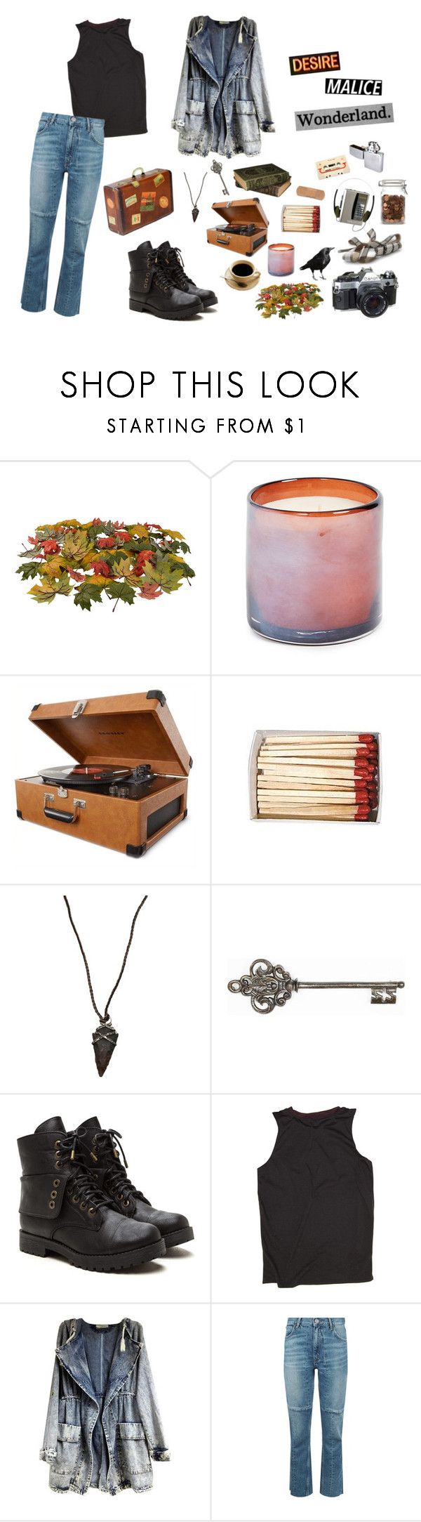 """November Breeze"" by ghxxsted ❤ liked on Polyvore featuring American Eagle Outfitters, LAFCO, Crosley Radio & Furniture, Lou Zeldis, Graham & Brown, Sandro, vintage, Fall, autumn and autumn2017"
