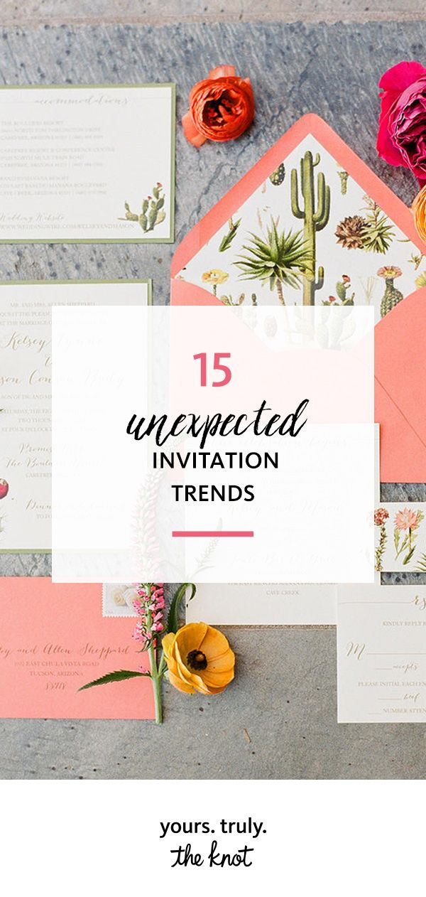 funny wedding invitation rsvp goes viral%0A    Unexpected Invitation Trends You u    ll Love