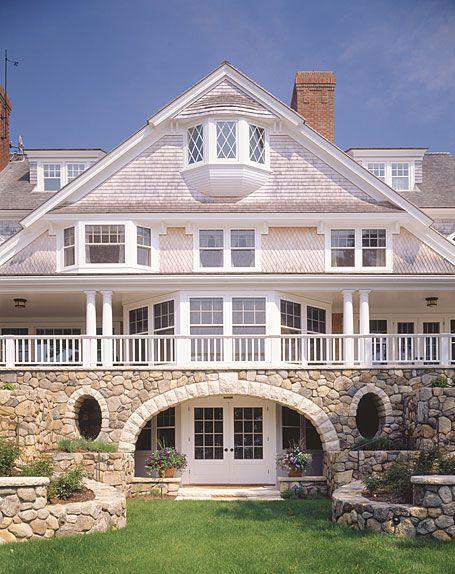 C h newton builders fine custom homes architectural for Cape cod builder