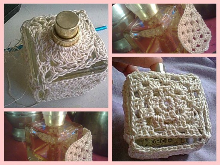 Perfume crochet diy do it yourself projects for Pinterest do it yourself crafts