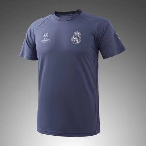 Real Madrid C.F 2017-18 Season Grey Training Shirt [K591]
