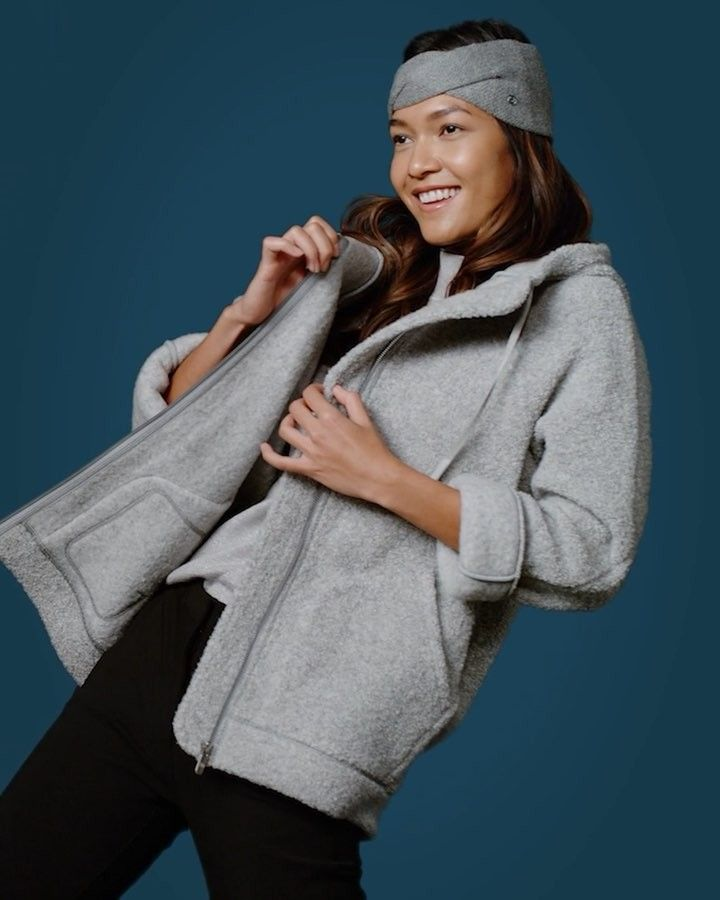 Lululemon On Instagram Big News We Have Fleece And It Comes In The Form Of The So Sherpa Hooded Jacket Make Sure She Un My Style City Winter In