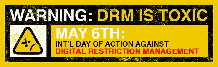 International Day Against DRM   Electronic Frontier Foundation   All of my Thalia's Musings ebooks are DRM-free