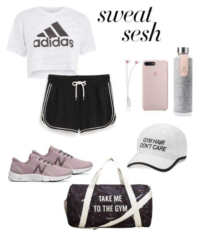 """Untitled #52"" by hfirlyana on Polyvore featuring New Balance, Topshop, Monki, MANGO, Tek Gear, Sudio and Equa"