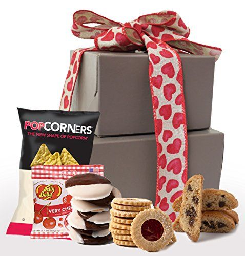My Sweetheart Kosher Valentines Day Gluten Free Gift Basket Gluten Free Valentine Treats Valentine Gift Basket Tower Gift Boxes  Small ** Find out more by clicking the VISIT button