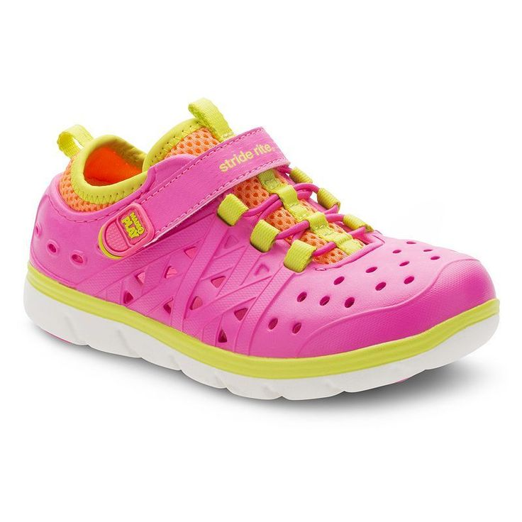 Stride Rite Made 2 Play Phibian Girls' Water Shoes, Girl's, Size: 10 T, Pink