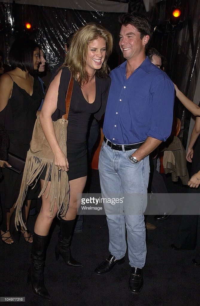 Rachel Hunter & Jerry O'Connell during 44th GRAMMY Awards - BMG After-Party at The Argyle Hotel in Hollywood, California, United States.