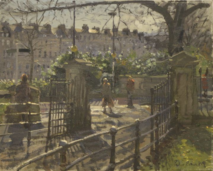 Peter Brown - February Morning, the Crossing, Julian Road