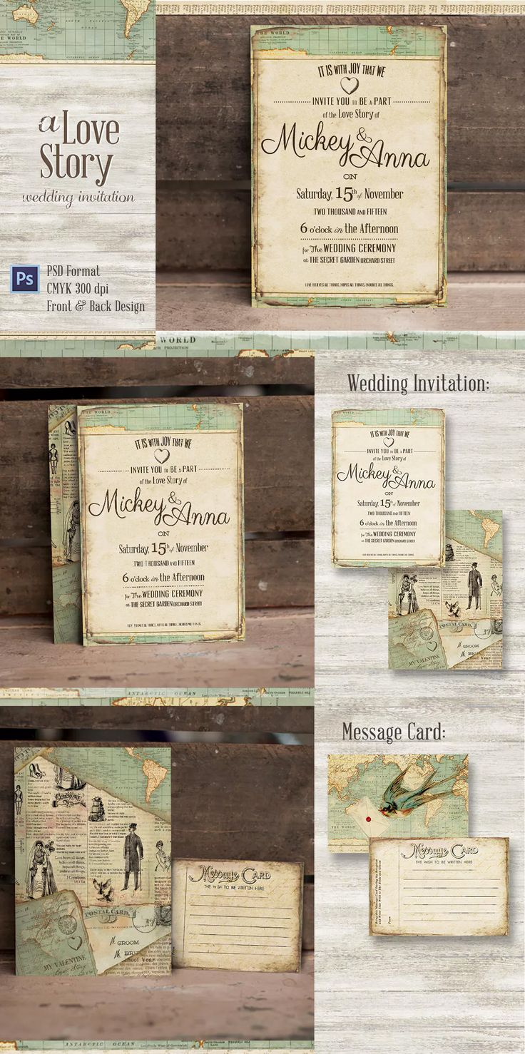 online wedding invitation template%0A Journey Wedding Invitation Template PSD