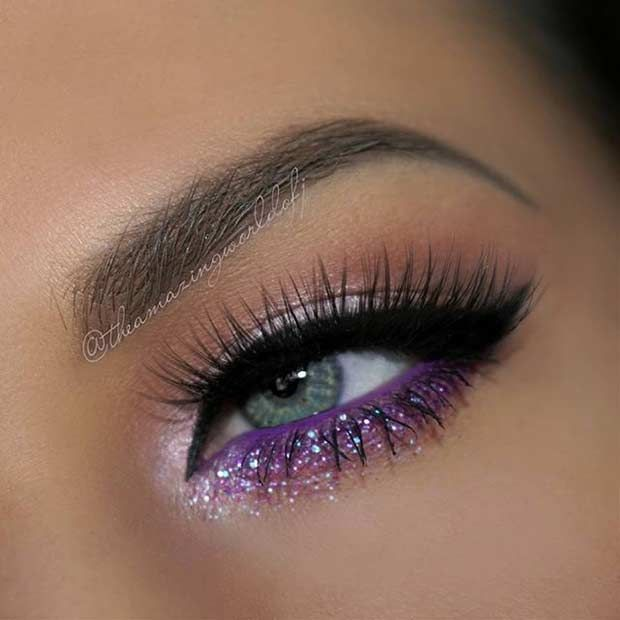11. Light Pink Eye Makeup Look Are you looking for an ultra girly and feminine l…