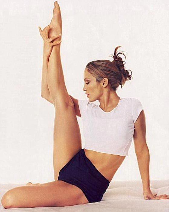 Jennifer Lopez workout...