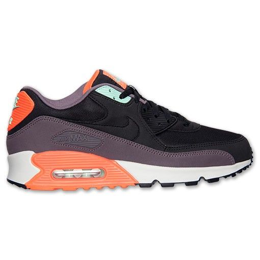 Nike Air Max 90 Essential Black/Hyper Crimson via MFancy Boutique. Click on  the