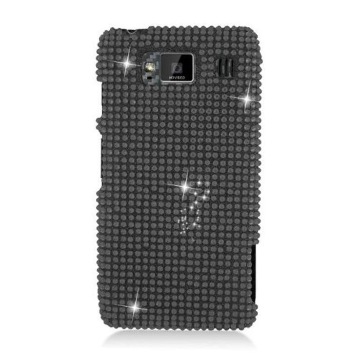 Insten Hard Snap-on Diamond Bling Case Cover For Motorola Droid Razr Maxx HD #2329968