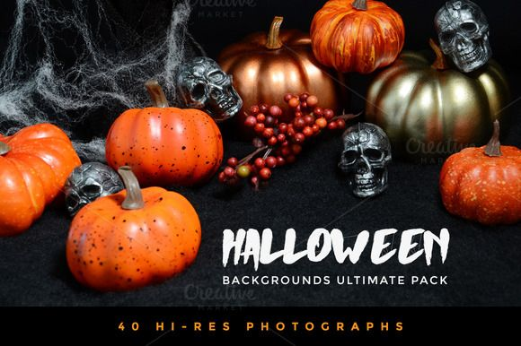 Halloween Backgrounds Ultimate Pack by Vital Zigns on @creativemarket