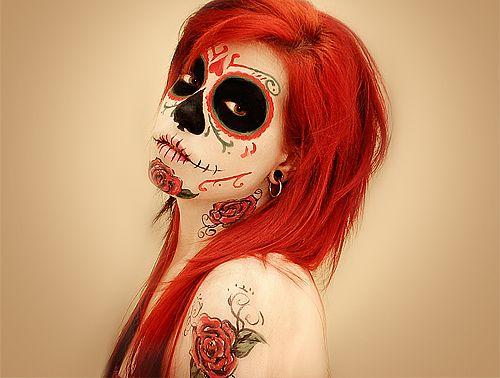 Dia de los Muertos- Face painting