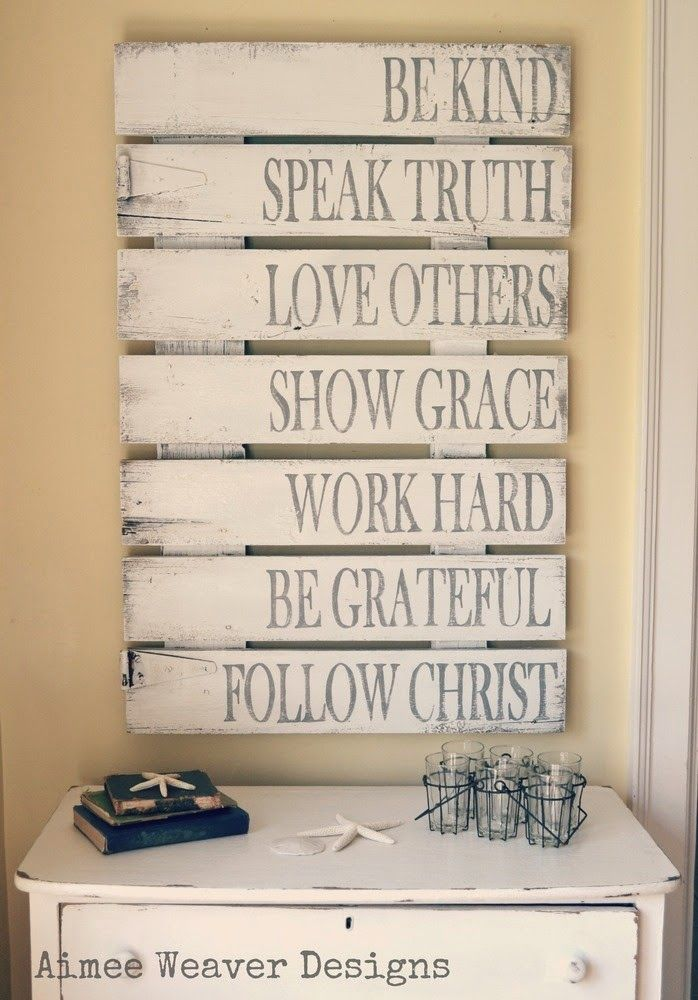 Be Kindwords to live by wooden sign