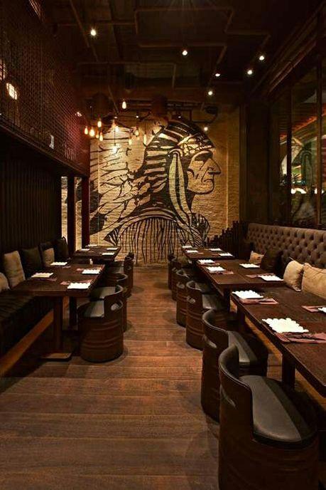 Espectaculares Dise 241 Os De Bares Y Restaurantes Bar En