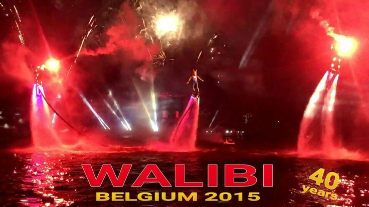 Grand Nightshow in family park Walibi Belgium: