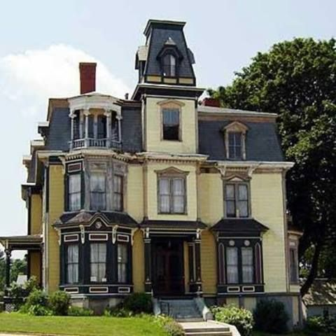 "The S.K. Pierce Mansion, also known as ""The Victorian,"" has been ""certified haunted"" by mediums and paranormal experts. The home, located in Gardner, Massachusetts, was built by chair manufacturer S.K. Pierce in 1875. The most active ghost reported in the home is a 19-year-old woman, thought to be one of Pierce's servants. Other spirits include a man who perished in 1963 in a fire, and a small boy."