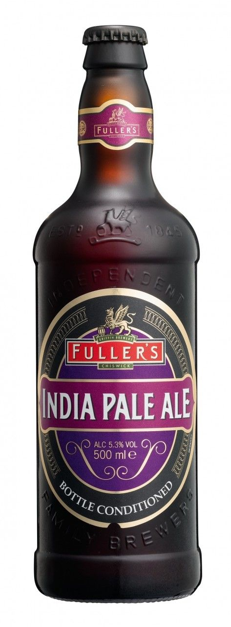 Fuller's IPA -- Amber body with loads of very active head. Could be a gusher if…