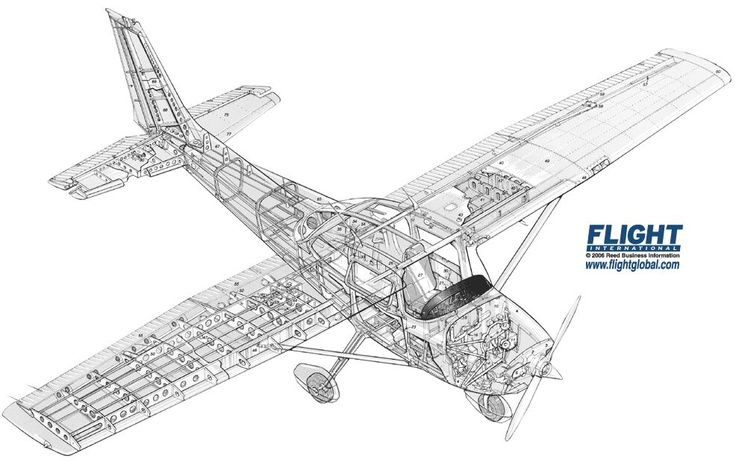cessna 172 engineering schematics