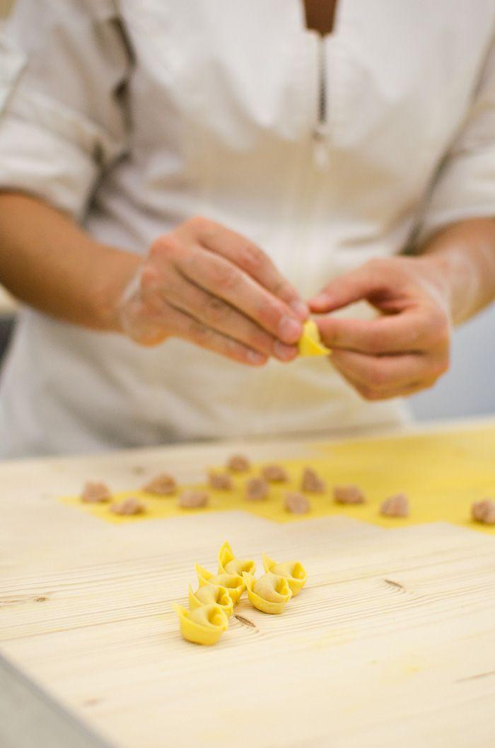 Behind the scenes of an artisanal fresh pasta shop  Very EATalian