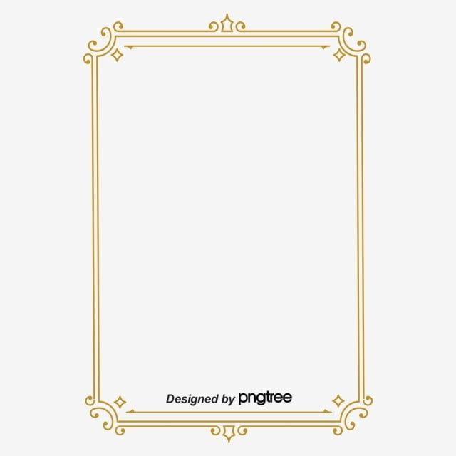 Simple Retro Line Square Border Photo Clipart Restoring Ancient Ways Square Png Transparent Clipart Image And Psd File For Free Download Frame Border Design Hand Painted Frames Vintage Borders