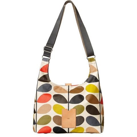 Keeping it fresh but casual is the name of this game, with the Orla Kiely Classic Multi Stem Midi Sling Bag from the SS15 Etc range.  A great bag and a must-have!  Orla Kiely Bags | Classic Multi Stem Midi Sling Bag - By Cadeaux - Cadeaux.ie