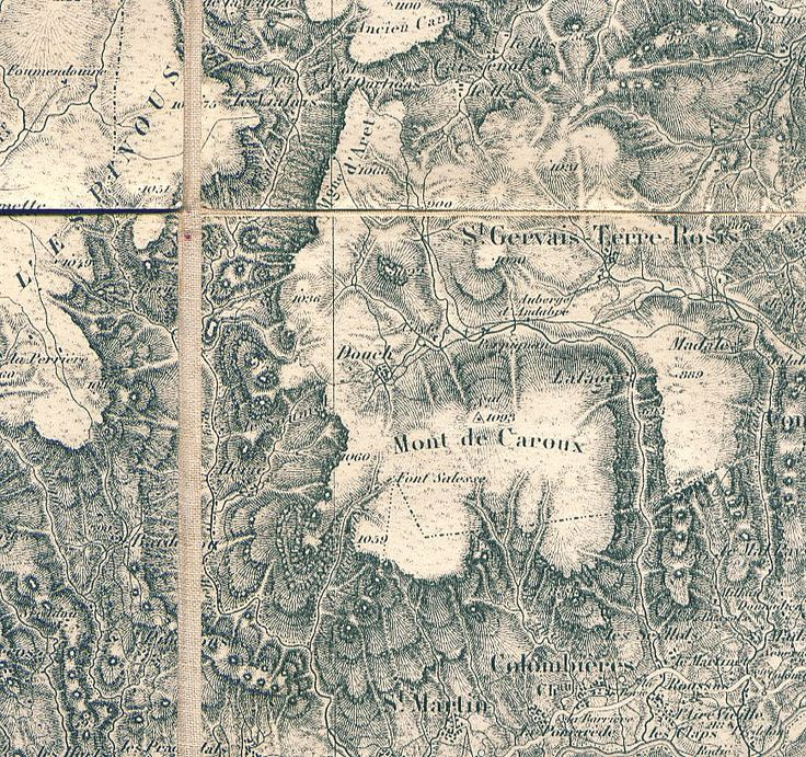 Hachures: A Lost Cartographic Art | The Basement Geographer