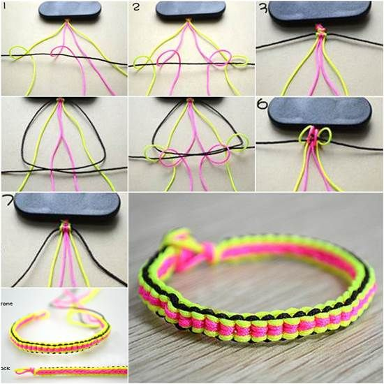How to Make DIY 6 String Braided Friendship Bracelet | iCreativeIdeas.com Like Us on Facebook ==> https://www.facebook.com/icreativeideas