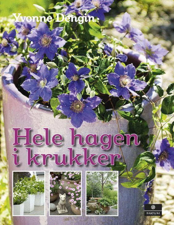 Har du bare en uteplass, stor eller liten, så kan du skape din egen hage ved å plante i krukker!