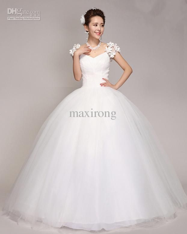 low cost wedding dresses in atlantga%0A Wholesale Wedding Dresses  Buy Hottest Romantic Princess Ball Gown Bridal  Gowns VNeckline Floor