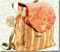 Bag Quilting :: gorgeous backpack tutorial   Just move the straps and you got a purse.