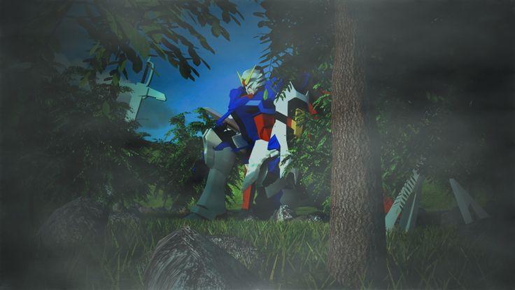 Gundam destiny & Environment