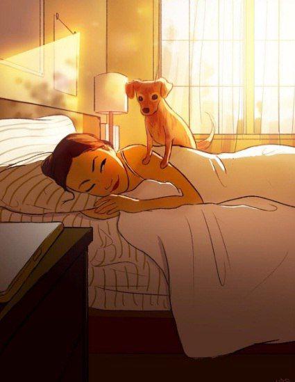 Verte al despertar, es una gran alegría, Simón ♥