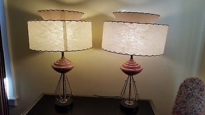 pair of vintage mid century modern atomic space age sputnik table rh pinterest com