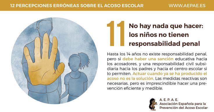 No hay nada que hacer: los niños no tienen responsabilidad penal
