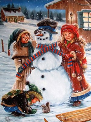 Vintage christmas - Ginette Paquette