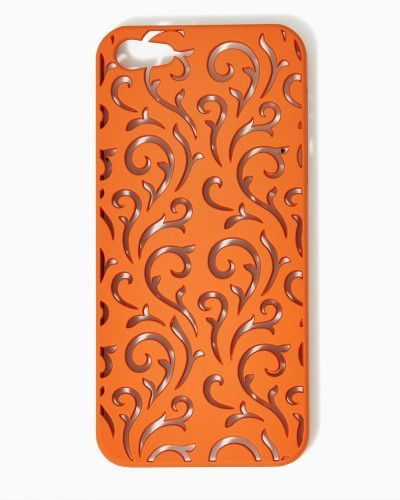 That's My Curlicue iPhone 5/5s Case | #COTM Harvest Pumpkin | #charmingcharlie . Wish they had cases for iPhone 5c