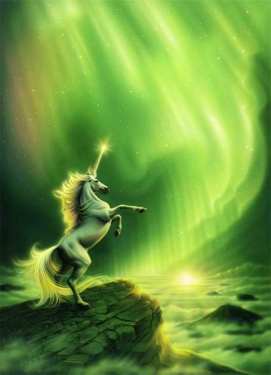 i really love unicorns and lime green is my favorite color! so this is insanely beautiful to me!