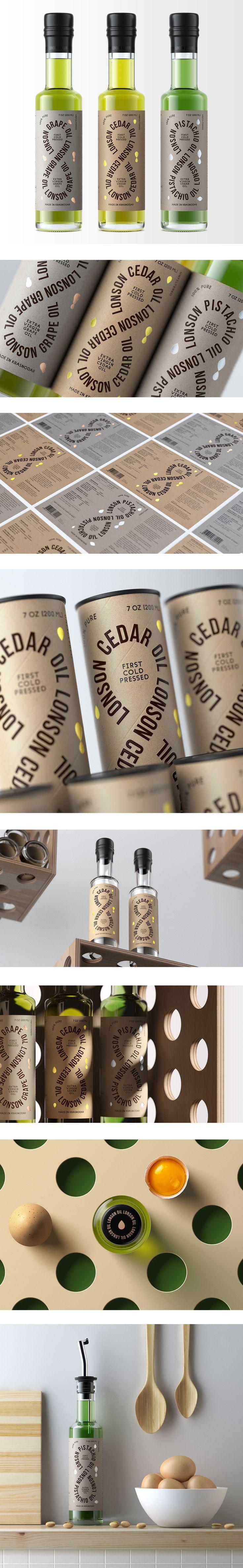 Lonson Oil, Упаковка © ДанилДа
