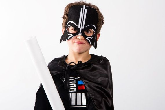 Darth Vader Costume Star Wars Toddlers costumes 4PC boys toddler costume Ready to ship Halloween costumes for kids.