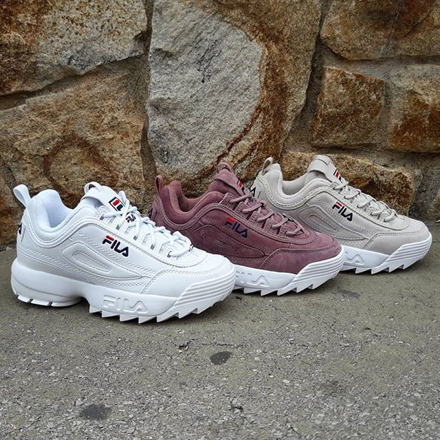 new arrival be916 706aa Fila Disruptor Low Woman Size Wmns - Price  11990 (Spain   Portugal Envíos  Gratis a Partir de 99) www.loversneakers.com  loversneakers  filadisruptor   fila ...